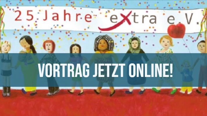 """Zum 25. Jubiläum von extra e.V.: Vortrag """"Kinder in suchtbelasteten Familien – Dauerschleife oder Lösung"""""""