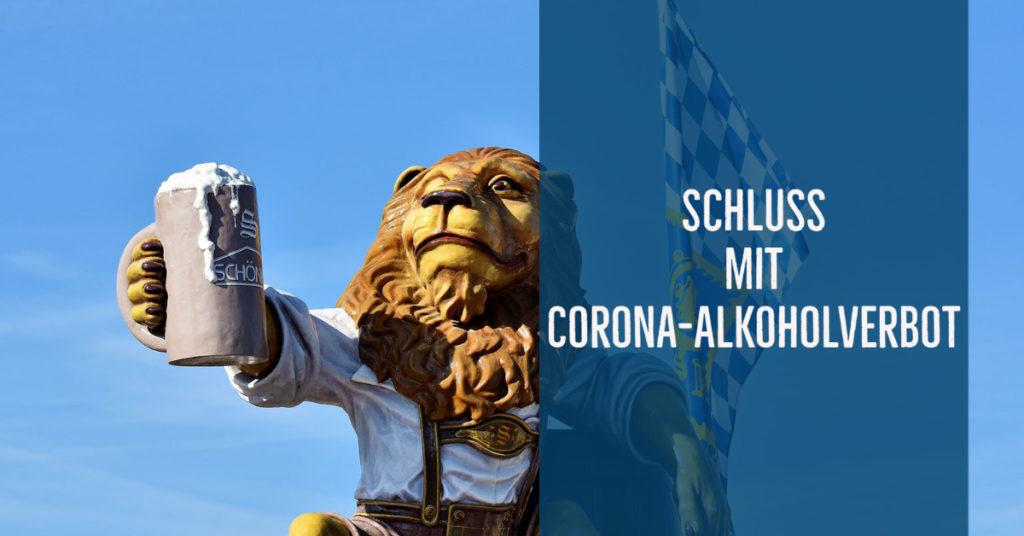 Der Himmel über Bayern – jetzt wieder frei für Alkohol