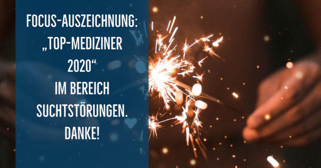 Auch 2020 wieder unter den Top-Suchtexperten Deutschlands