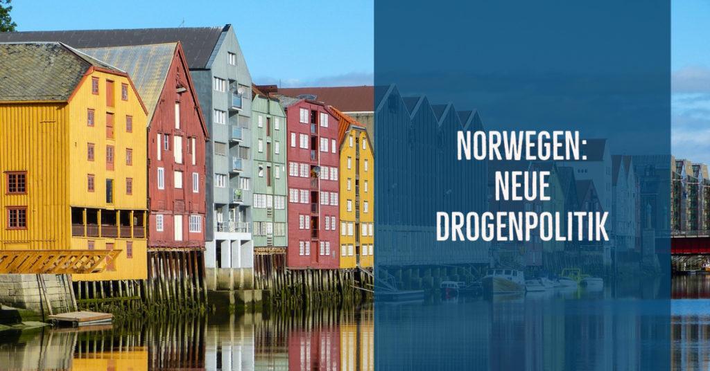 Neue Drogenpolitik in Norwegen: Gesundheit statt Bestrafung und Ächtung.